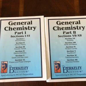 MCAT Prep: Berkeley Review General Chemistry 1 & 2